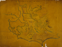 Plan of reserve of 1300 acres at Fort Victoria