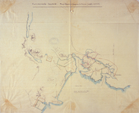 Vancouver's Island. Puget Sound Company's Farms [roughly sketched]