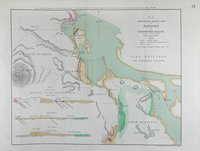 Geological sketch map of Nanaimo in Vancouver Island. Nanaimo.