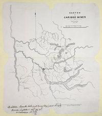 Sketch of Cariboo Mines, 1862.