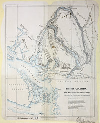 New Westminster to Lillooet, from a general Map in preparation by Royal Engineers.