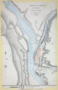 Lytton and its Suburbs, 1860.