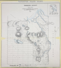 Cranberry District 1859 (Rough sketch) Vancouver Island Colony. Sketch Maps of Districts.