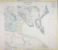 Cowichan District 1859. Vancouver Island Colony. Sketch Maps of Districts.