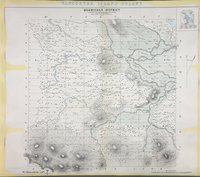 Quamichan District 1859. Vancouver Island Colony. Sketch Maps of Districts.