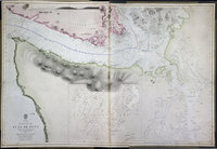 Strait of Juan de Fuca surveyed by Captain Henry Kellett, R.N., 1847, Haro & Rosario Straits by Captain G.H. Richards, R.N. 1858, Admiralty Inlet and Puget Sound by the United States exploring expedition, 1841, coast south of Cape Flattery by the same in 1853. Strait of Juan de Fuca.