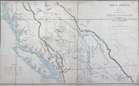 Sketch map of part of the British possessions to the west of the Rocky Mountains. British Possessions to the West of the Rocky Mountains.