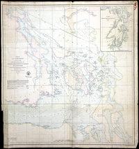 Reconnaissance of Canal de Haro and Strait of Rosario, and approaches.