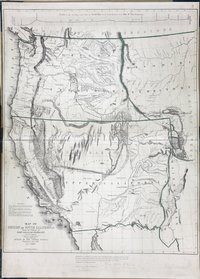Map of Oregon and Upper California, from the Surveys of John Charles Frémont And Other Authorities Profile of the travelling route from the South Pass of the Rocky Mountains to the Bay of San Francisco