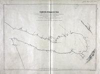 San Juan boundary dispute maps [map J].    Plano del Estrecho de Fuca reconocido por el Alferez de Navio de la Rl. Armada Dn. Manuel Quimper.