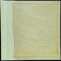 San Juan Water Boundary (Arbitration) : list of maps sent to Admiral Prevost at Berlin on the 12th June 1872 [map 11] Carta que comprehende los interiores y veril de la costa desde los 48' de latitud n. hasta los 50' examinados escrupulosamente por el Feniente de Navio de la Rl. Armada Dn. Franco. de Eliza Comandante del Paquebot de S.M. Sn. Carlos del porte de 16 canones, y Goleta Sta. Saturnina (alias la Orcasitas)