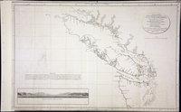 San Juan Water Boundary (Arbitration) : list of maps sent to Admiral Prevost at Berlin on the 12th June 1872 [map 17] Carta esferica de los reconocimientos hechos en 1792 en la costa n.o. de America