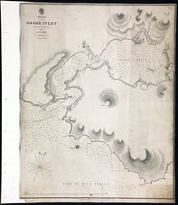 San Juan Water Boundary (Arbitration) : list of maps sent to Admiral Prevost at Berlin on the 12th June 1872 [map 22] Sooke Inlet
