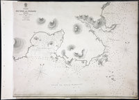 San Juan Water Boundary (Arbitration) : list of maps sent to Admiral Prevost at Berlin on the 12th June 1872 [map 23] Becher and Pedder Bays