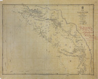 San Juan Water Boundary (Arbitration) : list of maps sent to Admiral Prevost at Berlin on the 12th June 1872 [map 26] Vancouver Island and the Gulf of Georgia