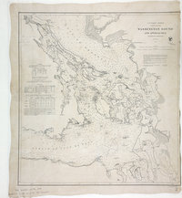 San Juan Water Boundary (Arbitration) : list of maps sent to Admiral Prevost at Berlin on the 12th June 1872 [map 33] Washington Sound and approaches
