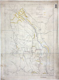 British Columbia, reduced copy of the map referred to in the despatch of Governor Douglas of 16 July 1861.