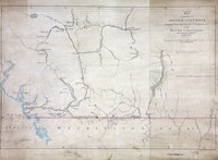 Reduced map of a portion of British Columbia, compiled from the surveys and explorations of the Royal Navy and Royal Engineers at the camp New Westminster, 24 Nov 1859.