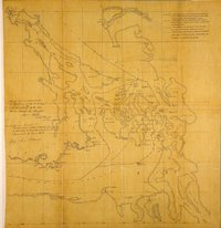 Plan to illustrate 'Memorandum respecting the Island of San Juan'. Great Britain. Foreign Office. 1859. San Juan Islands and surrounding area.