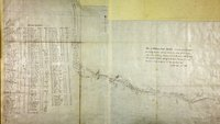 Plan of Williams Creek, Caribou.  Williams Creek