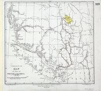 Skeleton map of part of British Columbia.