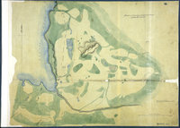 Sketch of Nisqually and adjacent Plains on Puget's Sound. Nisqually, Puget Sound
