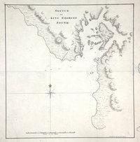 Sketch of King George's Sound (now Nootka Sound). Nootka Sound.