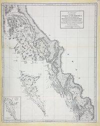 Chart shewing part of the Coast of N.W. America with the tracks of His Majesty's Sloop Discovery and Armed Tender Chatham, Commanded by George Vancouver Esq. and prepared under his immediate inspection by Lieut. Joseph Baker  in which the continental shore has been correctly traced and determined from lat. 51 45ʹ N. and long. 232 08ʹ E. to lat. 57 30ʹ N. and long. 226 44ʹ E. at the periods shewn by the tracks ; Warner, sculp.  Warner Sculp'