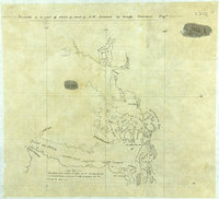 Facsimile of a part of chart of coast of N.W. America by George Vancouver Esqr'.