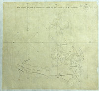 Facsimile of part of Vancouver's chart of the coast of N.W. America. Facsimile of part of chart of the coast of N.W. America.