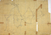 Map of area either side of the boundary between British Columbia and the United States of America [recto].