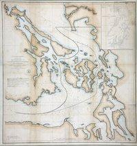 Reconnaissance of Canal de Haro & Strait of Rosario and approaches. Canal de Haro & Strait of Rosario.