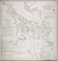 Washington Sound and Approaches, Washington Territory.
