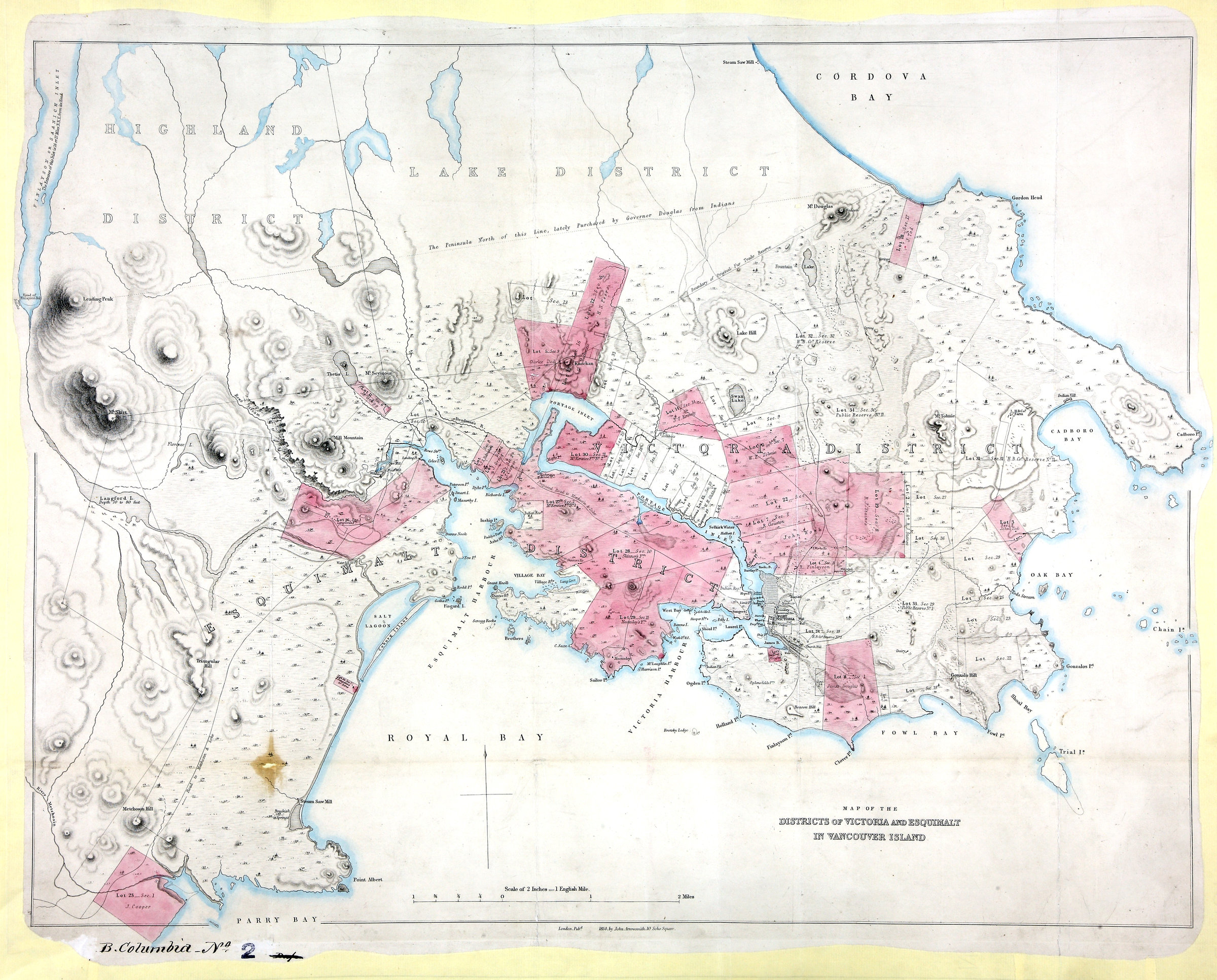 The colonial despatches map gallery map of the districts of victoria and esquimalt in vancouver island districts of victoria and esquimalt in vancouver island nvjuhfo Images