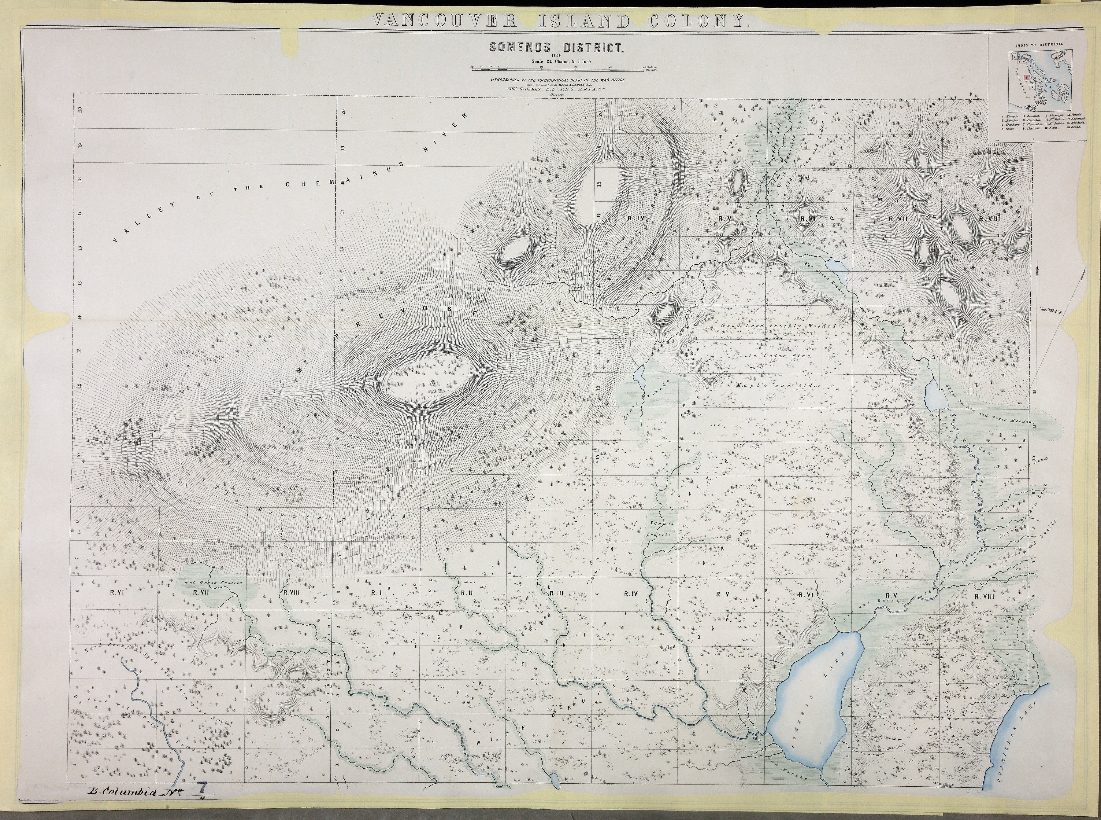 Somenos District 1859.