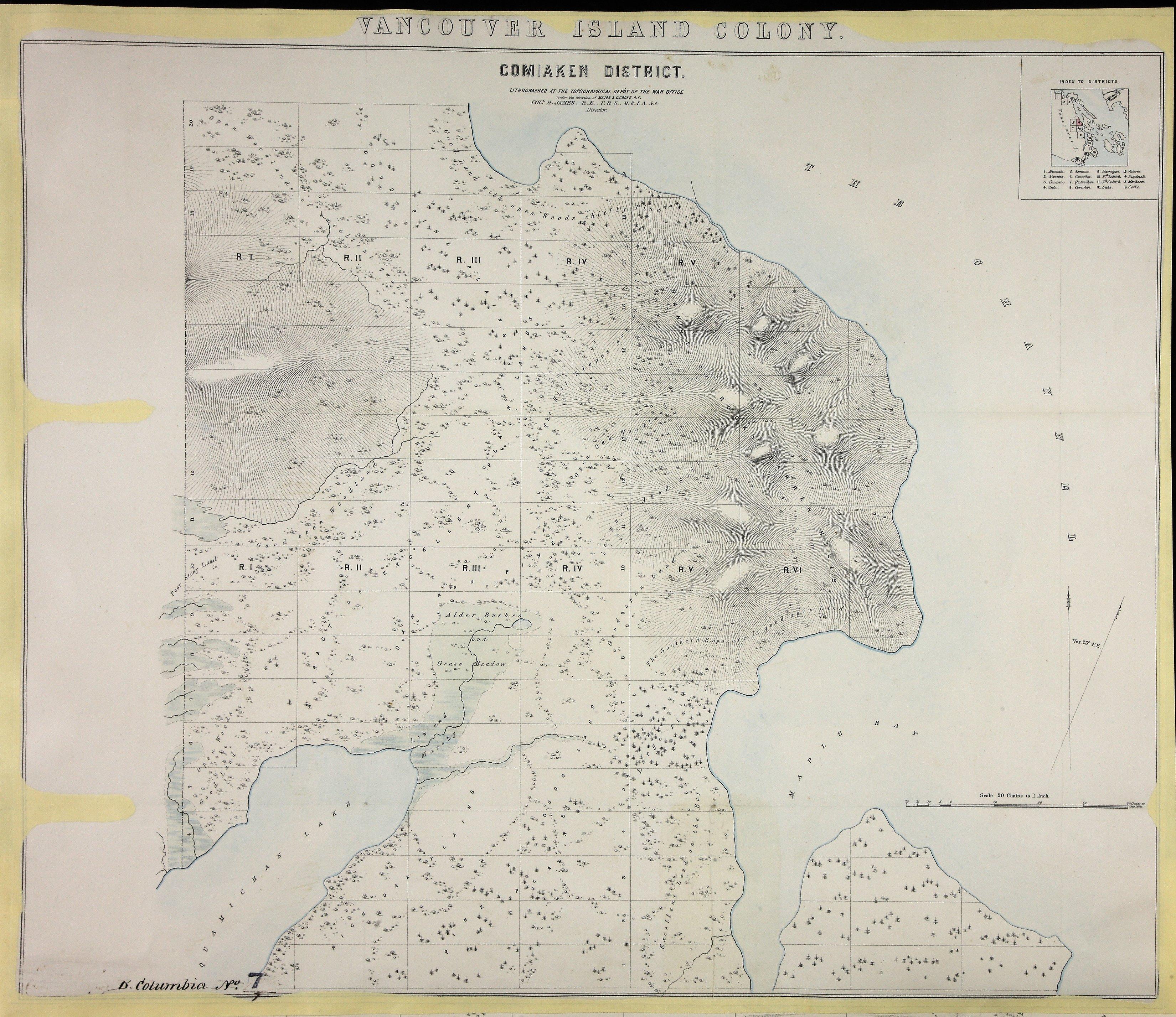 Comiaken District 1859.