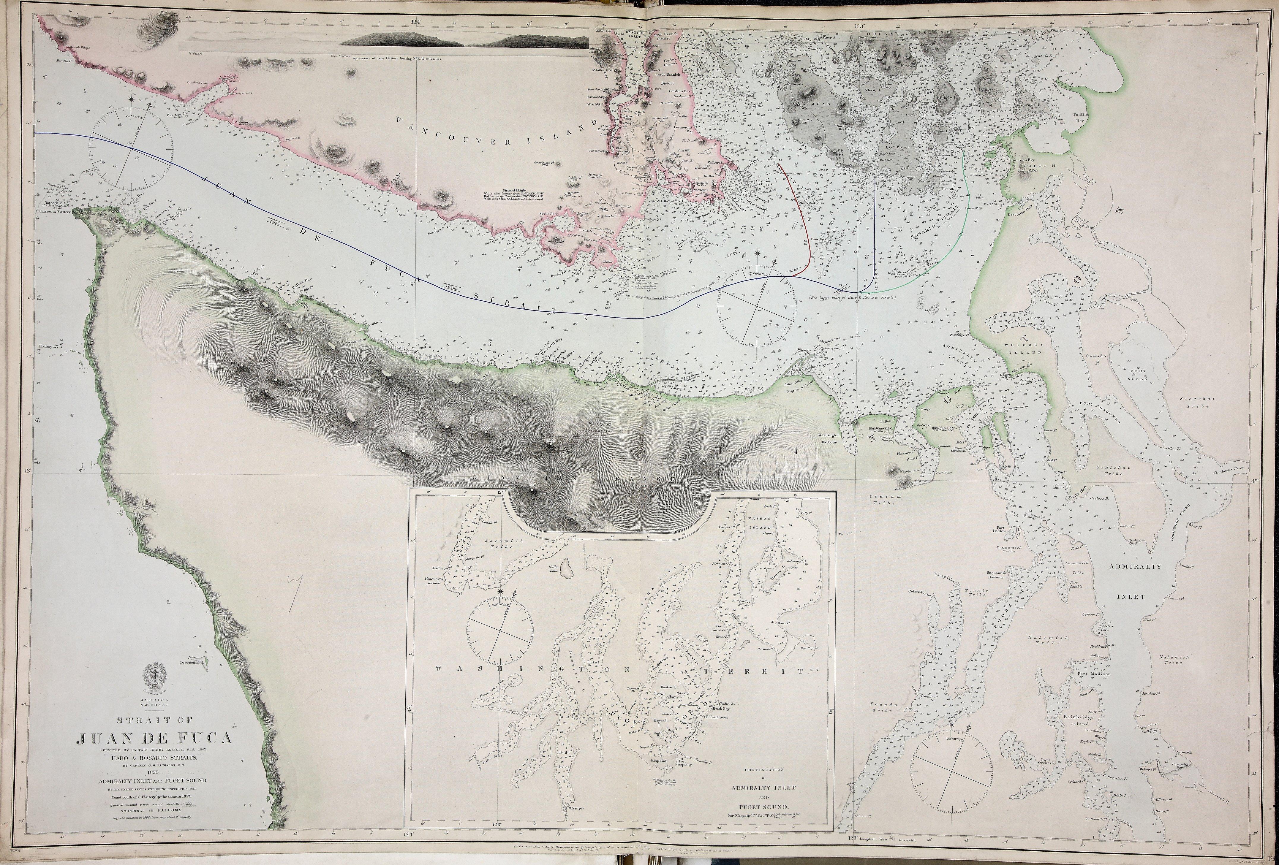 San Juan Boundary Arbitration atlas [map 7].