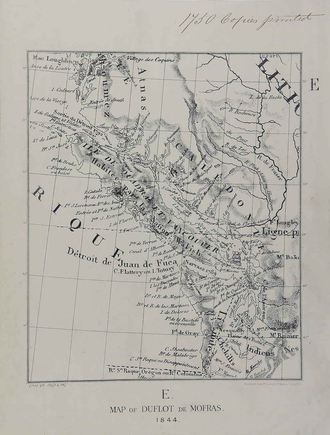 San Juan boundary dispute maps [map E].