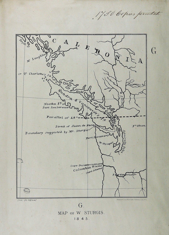 San Juan boundary dispute maps [map G].