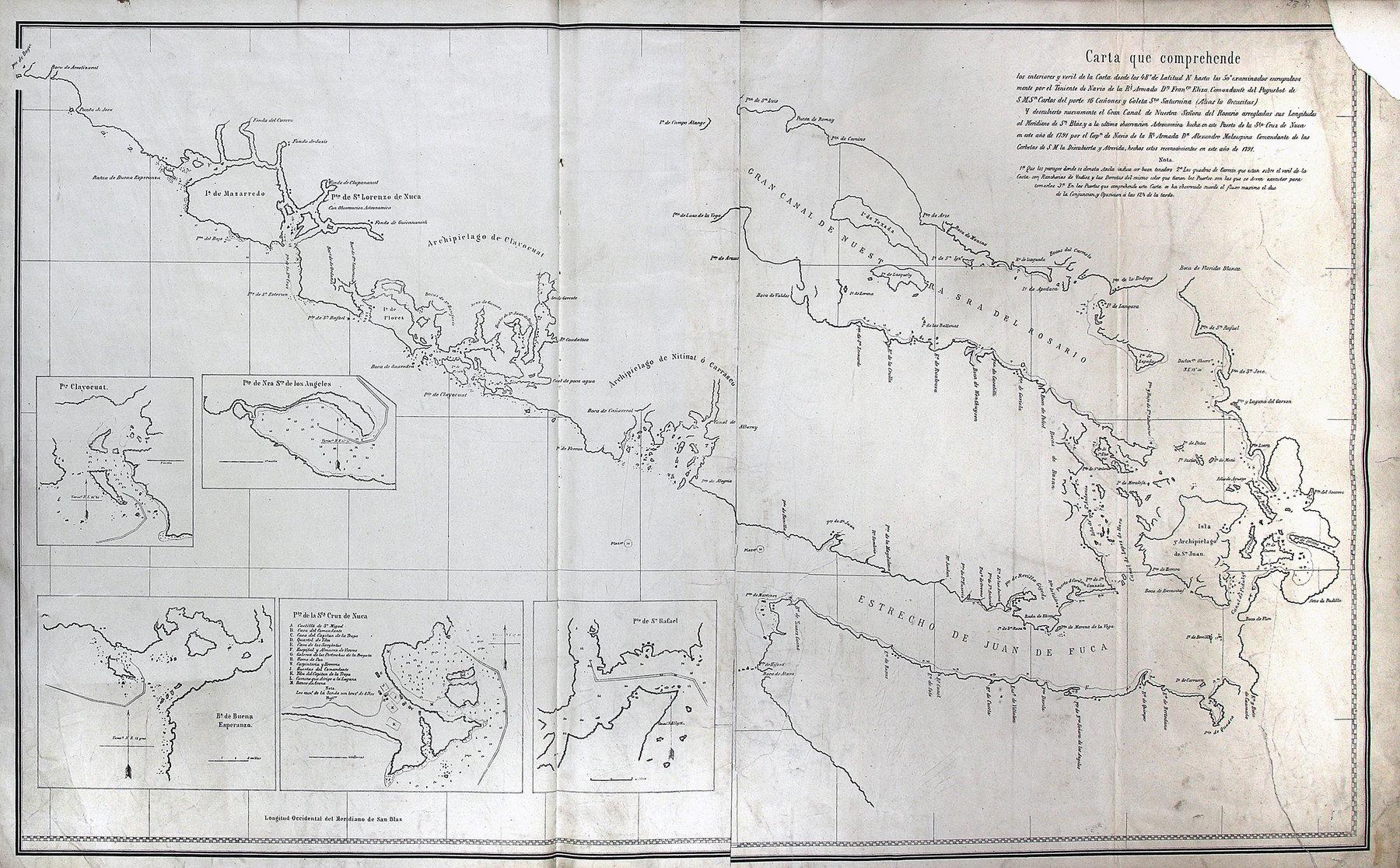 San Juan boundary dispute maps [map H].