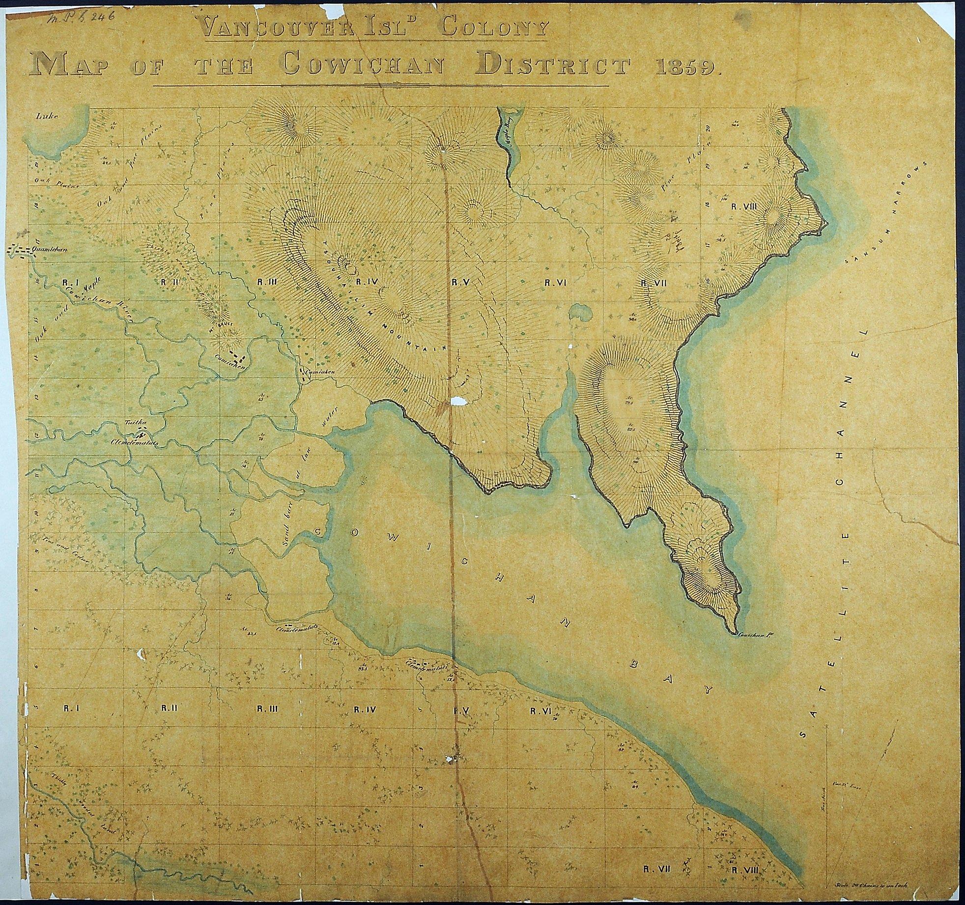 Cowichan District, 1859.