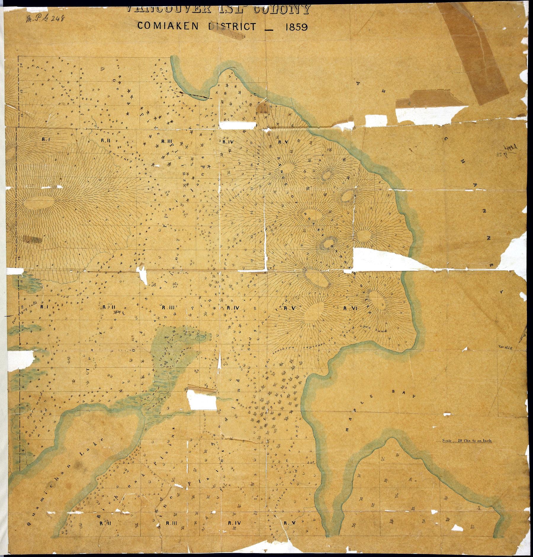 Comiaken District, 1859.