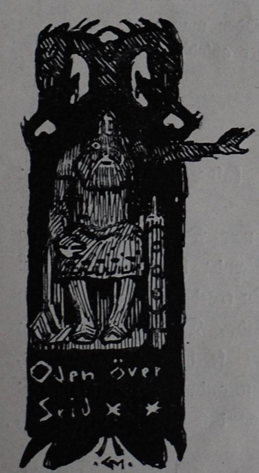 Óðinn Practicing Seiðr