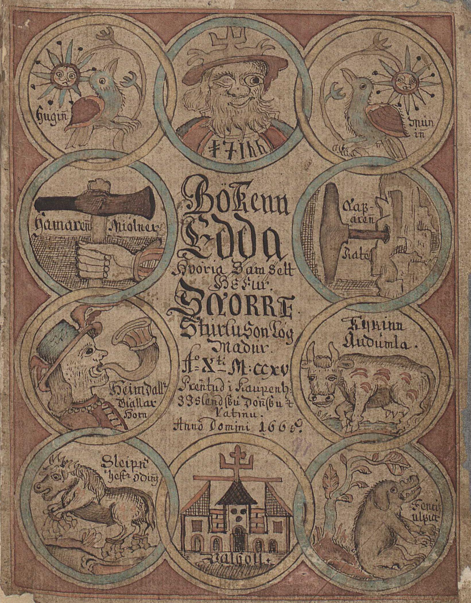 Edda Title Page