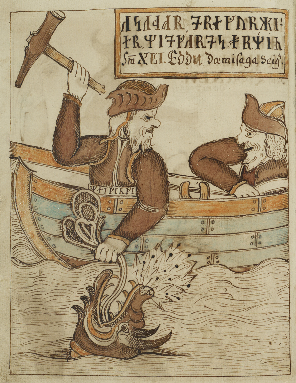 Þórr Fishing for