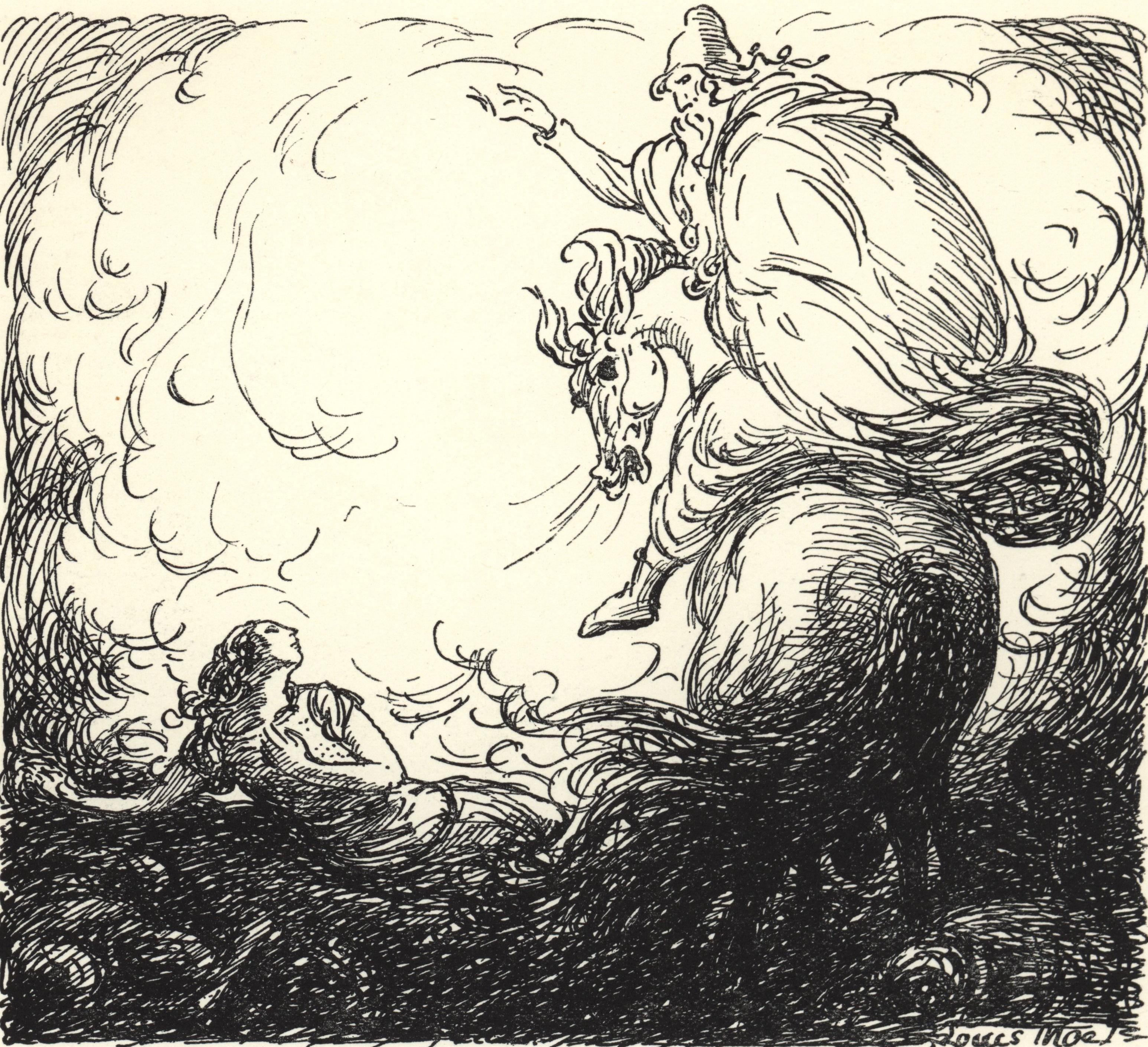 Óðinn Summons Vébjörg to Valhöll