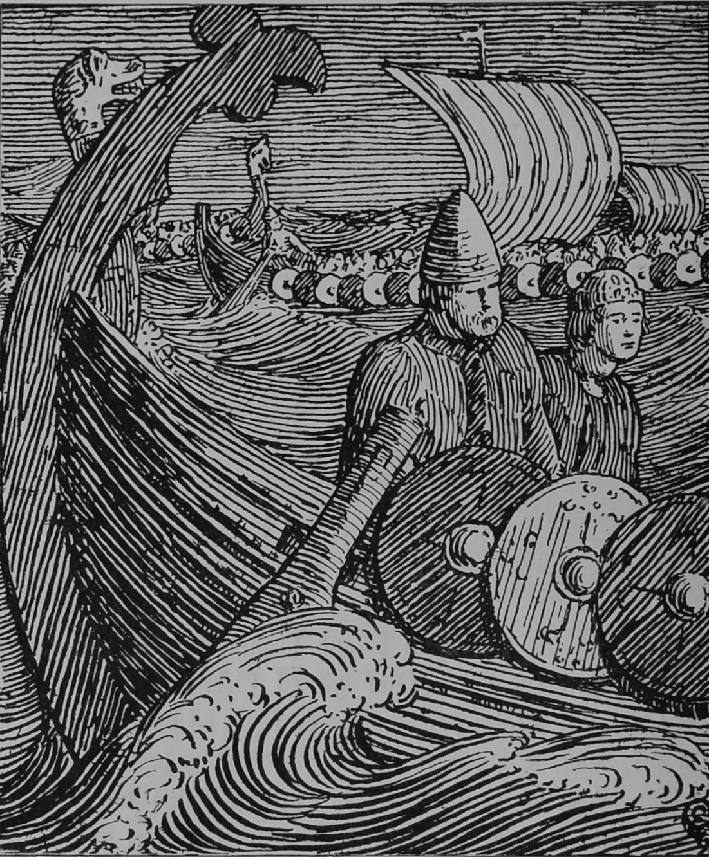 Óláfr Haraldsson on a Viking Expedition