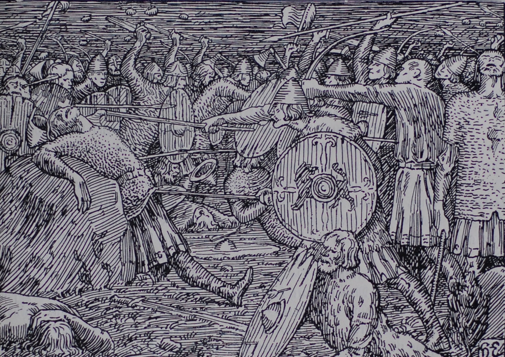The Death of King Óláfr Haraldsson