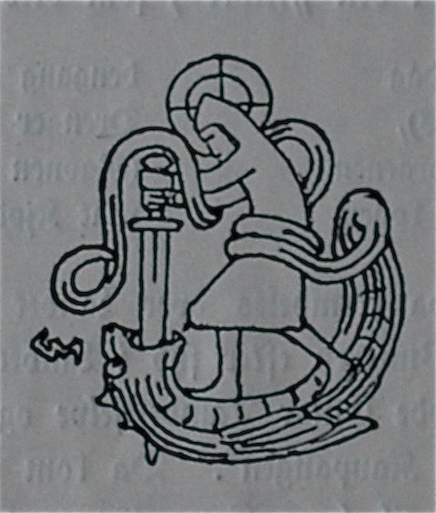 St. Óláfr Killing a Dragon