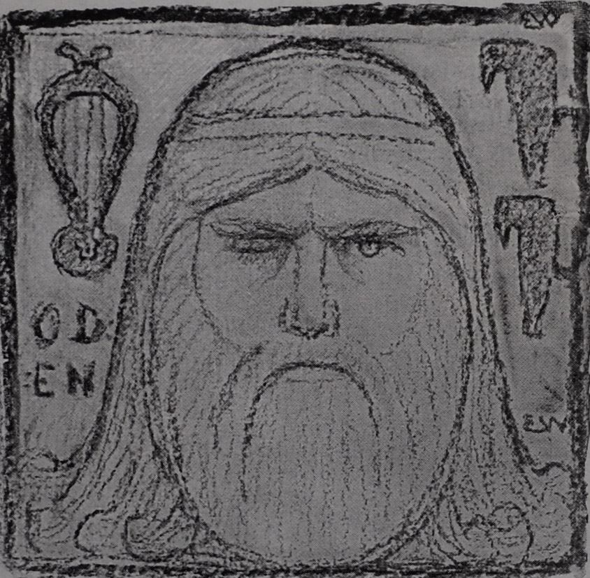 Portrait of Óðinn